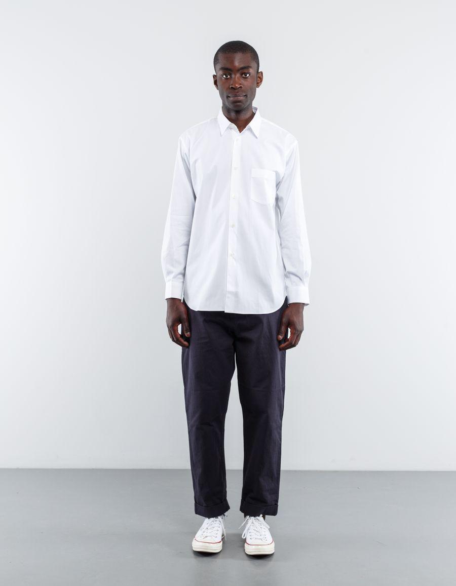 Comme des Garçons SHIRT Narrow Classic Poplin Shirt White